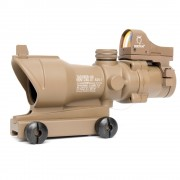 Прицел оптический ACOG-14 4x32 (TAN) Riflescope+коллиматор Micro Docter