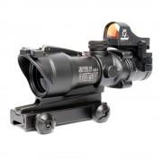 Прицел оптический ACOG-19 4x32 (ВК) Riflescope+коллиматор Micro Docter