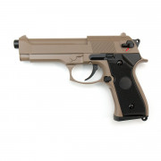Страйкбольный пистолет (Cyma) CM126 M92F AEP электр.TAN