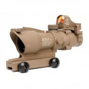 Прицел оптический ACOG-21 4x32 (TAN) Riflescope+коллиматор Micro Docter