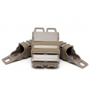 Подсумки для магазинов набор FastMag Molle на пистолет 2шт/автомат М4 1шт (TAN)