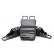 Подсумки для магазинов набор FastMag Molle на пистолет 2шт/автомат М4 1шт (Black)