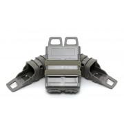 Подсумки для магазинов набор FastMag Molle на пистолет 2шт/автомат М4 1шт (Olive)