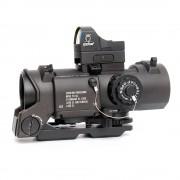 Прицел оптический Elcan-9 SpecterDR 1x-4х + коллиматор Docter (ВК)
