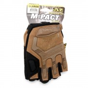 Перчатки (Mechanix реплика) Fingerless Glove Black Tan (L) без пальцев