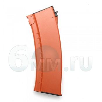 Магазин механический (Cyma) AK-74 пластик С72А orange