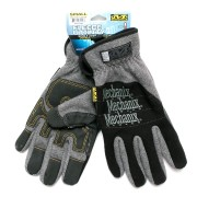 Перчатки (Mechanix) Fleece Utility Glove Black/Grey (XL) утеплен.