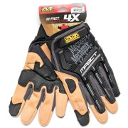 Перчатки (Mechanix) M-PACT 4X Glove Black/Tan (S)