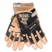 Перчатки (Mechanix) Impact PRO Glove Black/Brown (L)