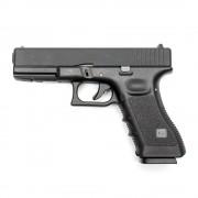 Страйкбольный пистолет (KJW) GLOCK 17 GBB металл KP-17-BK