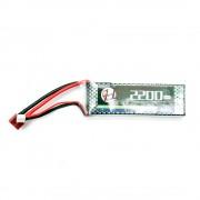 Аккумулятор Effect 7.4V 2200mah mini (Li-Po) Т-РАЗЪЕМ