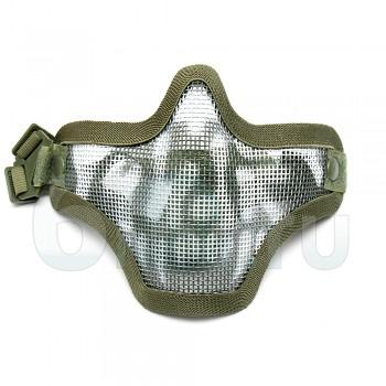 Маска защиты лица Вождь сетка (Olive) Череп