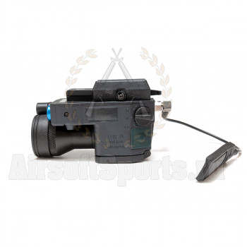 Фонарь LLM + Laser + ИК фильтр (Black)