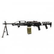 Страйкбольный пулемет (BullGear) ПКП с прикладом ПТ-2 (150 м/с)