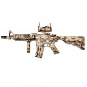 Страйкбольный автомат (BullGear Custom) M4 RAS II Short (150 м/с)