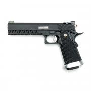 Страйкбольный пистолет (KJW) Hi-Capa 6' KP06 CO2 Black (GC-0345)