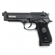 Страйкбольный пистолет (KJW) M9 металл Black KP9 CO2 (GC-9606)