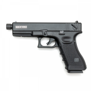 Страйкбольный пистолет (KJW) GLOCK 18 CO2 GBB металл (GC-0509-TBC)