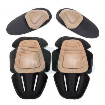 Наколенники + налокотники Protective Gear for Combat Uniform GEN.2 (TAN)
