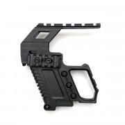 Рукоятка pistol kit GEN.2 WE glock 17/18/19 (Black)