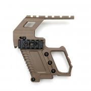 Рукоятка pistol kit GEN.2 WE glock 17/18/19 (TAN)