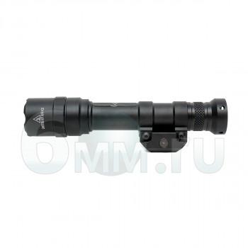Фонарь M600B Scout Light 400 lm (Black) c кнопкой