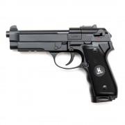 Страйкбольный пистолет (HFC) Beretta M9 CO2 металл 6 шаров барабан (HG-305ZB)