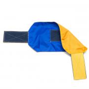 Повязка сторон на руку TORNADO AIRSOFT (желтый/синий) с велкро-панелью