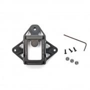 Крепление на каску переходник для ПНВ Wilcox 3 алюминий/пластик (Black)