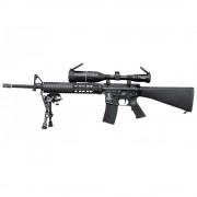 Страйкбольный автомат (King Arms) TXXY M4 FF c оптикой 3-9X50 AOE