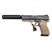 Страйкбольный пистолет (Tokyo Marui) HK45 Tactical