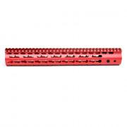 Цевье Keymod 13,5 inch для AR15/M4/M16 (red) металл