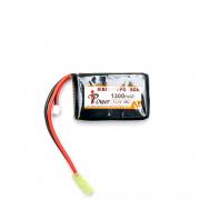 Аккумулятор IPower 11.1V 1300mah mini AN/PEQ или приклад (Li-Po) 17*43*60