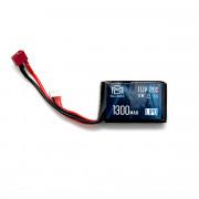 Аккумулятор BlueMAX 11.1V 1300mah 20C mini AN/PEQ или приклад (Li-Po) 17*40*65 Т-РАЗЪЕМ