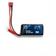Аккумулятор BlueMAX 11.1V 1200mah 20C mini AN/PEQ или приклад (Li-Po) 17*34*70 Т-РАЗЪЕМ
