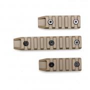 Планки на цевье (Cyma) KeyMod M062A 3 шт. TAN