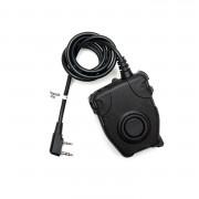 Кнопка PTT - Peltor для рации Kenwood-BaoFeng ZP112 G:2 MILITARY VERSION