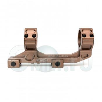 Кольца для прицела на RIS 25-30mm Tan