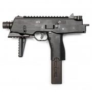 Страйкбольный пистолет-пулемет (ASG) MP9 A3 GBB Semi/Auto Black (пластик)
