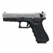 Страйкбольный пистолет (WE) GLOCK 18C Gen.4 Semi/Auto Silver (GGB-0356TMB-S)