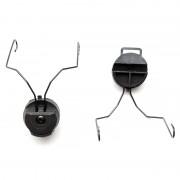 Крепление на каску для наушников PELTOR (Black)