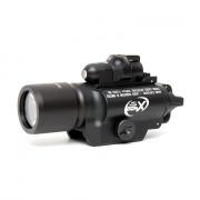 Фонарь Super Fire X400+ЛЦУ Black