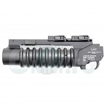 Страйкбольный гранатомет подствольный (G&P) LMT M203 XS RIS QL Black