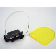 Линзы защитные для коллиматора 2шт (желтый/прозрачный)