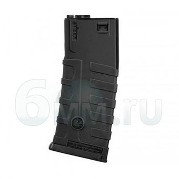 Магазин бункерный (King Arms) M4 САА 300ш Black