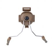 Крепление на шлем для наушников COMTAC I/COMTAC II (TAN) Z046