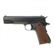 Страйкбольный пистолет (KJW) Colt 1911 металл (Olive) (GGC-0305-OD)