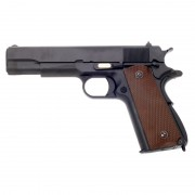 Страйкбольный пистолет (WE) COLT 1911 металл Black (GGB-0317TM-1)