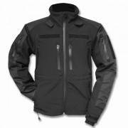 Куртка (Mil-Tec) SoftShell Jacket Black M