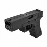 Страйкбольный пистолет (WE) GLOCK 17 DOUBLE Black (GGB-0502TM)